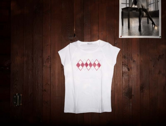 Dámské triko Royal GSB bílé.
