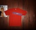 Pánské triko s potiskem RastrGSB červená.