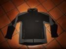Pánská softshell bunda s výšivkou GSB na zip.